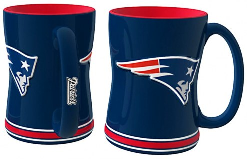 New England Patriots Sculpted Relief Coffee Mug