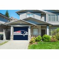 New England Patriots Single Garage Door Cover