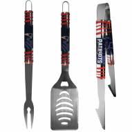 New England Patriots 3 Piece Tailgater BBQ Set
