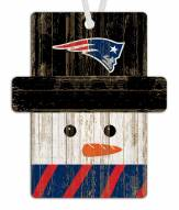 New England Patriots Snowman Ornament