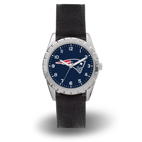 New England Patriots Sparo Men's Nickel Watch