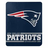 New England Patriots Split Wide Fleece Blanket