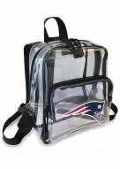 New England Patriots Stadium Friendly Clear Mini Backpack