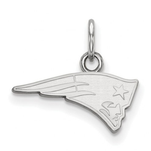 New England Patriots Sterling Silver Extra Small Pendant