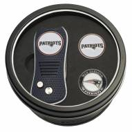 New England Patriots Switchfix Golf Divot Tool & Ball Markers