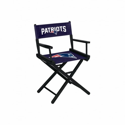 New England Patriots Table Height Director's Chair