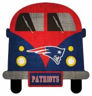 New England Patriots Team Bus Sign