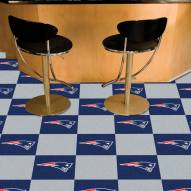 New England Patriots Team Carpet Tiles