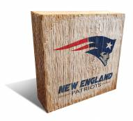 New England Patriots Team Logo Block