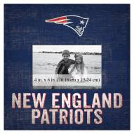 "New England Patriots Team Name 10"" x 10"" Picture Frame"