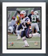 New England Patriots Tedy Bruschi 2006 Action Framed Photo