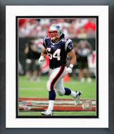 New England Patriots Tedy Bruschi 2007 Action Framed Photo