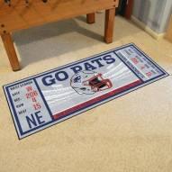 New England Patriots Ticket Runner Rug