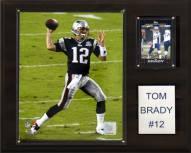 """New England Patriots Tom Brady 12 x 15"""" Player Plaque"""