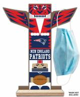 New England Patriots Totem Mask Holder