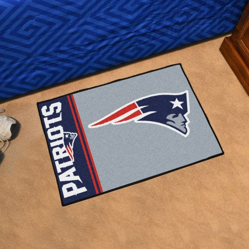 New England Patriots Uniform Inspired Starter Rug