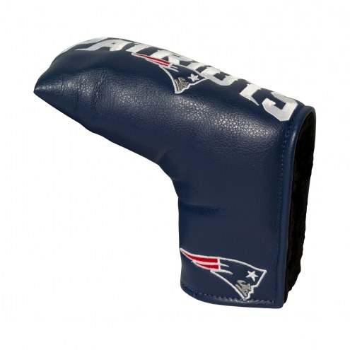 New England Patriots Vintage Golf Blade Putter Cover