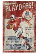 New England Patriots Vintage Wall Art