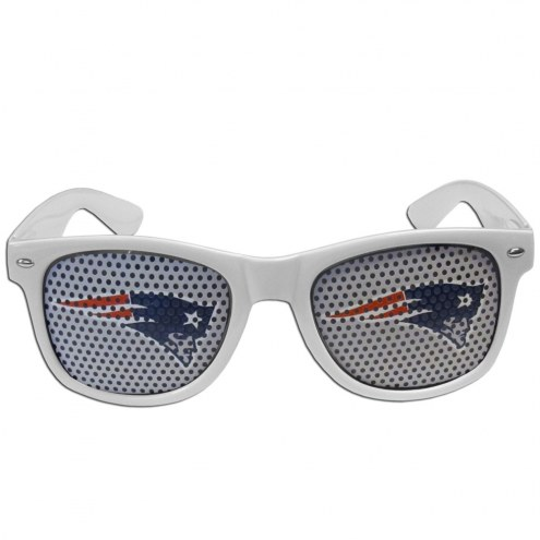 New England Patriots White Game Day Shades