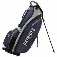 New England Patriots Wilson NFL Carry Golf Bag