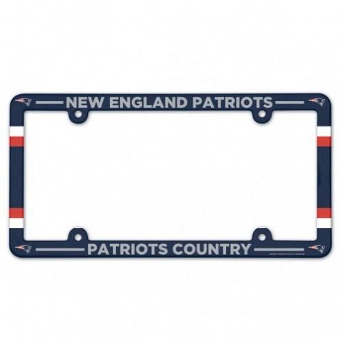 New England Patriots License Plate Frame
