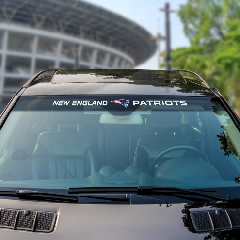 New England Patriots Windshield Decal