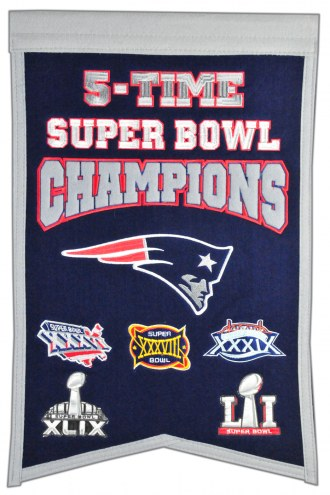 New England Patriots Champs Banner