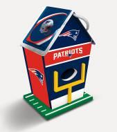 New England Patriots Wood Birdhouse