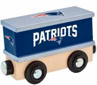 New England Patriots Wood Box Car Train