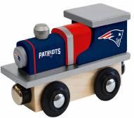 New England Patriots Wood Toy Train