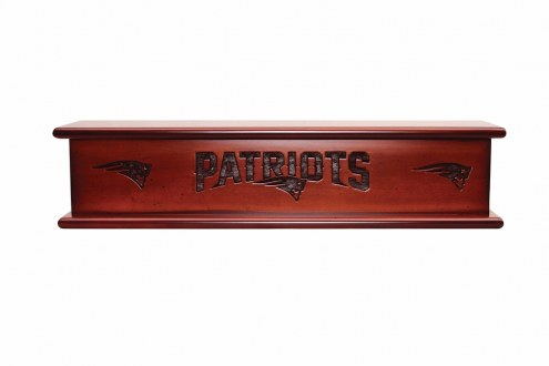 New England Patriots Wood Wall Shelf