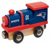 New England Patriots Wooden Toy Train