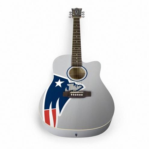 New England Patriots Woodrow Acoustic Guitar