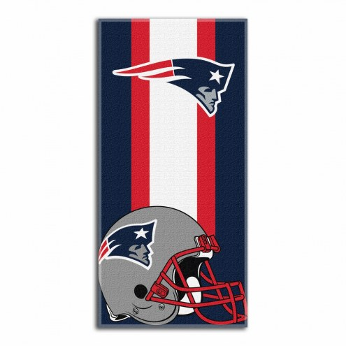 New England Patriots Zone Read Beach Towel