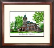 New Hampshire Wildcats Alumnus Framed Lithograph