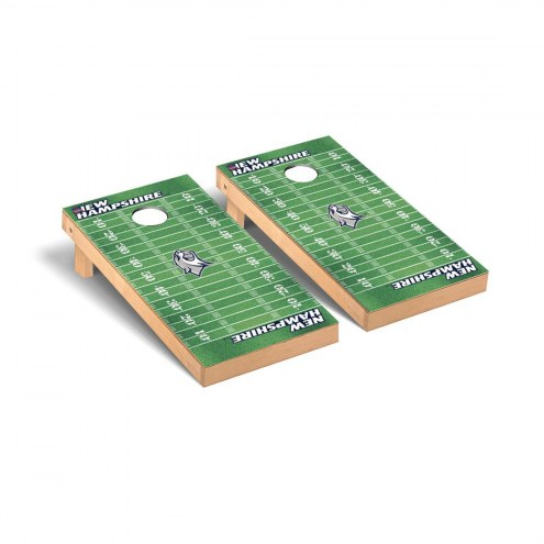 New Hampshire Wildcats Football Field Cornhole Game Set