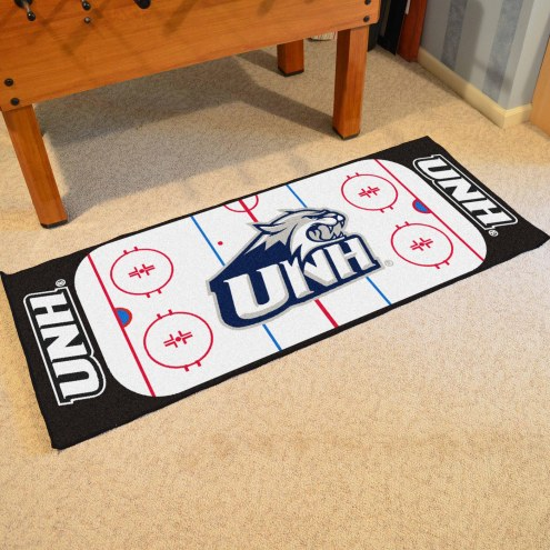 New Hampshire Wildcats Hockey Rink Runner Mat