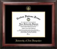 New Hampshire Wildcats Gold Embossed Diploma Frame