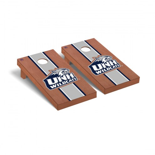 New Hampshire Wildcats Rosewood Stained Cornhole Game Set