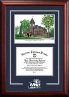 New Hampshire Wildcats Spirit Graduate Diploma Frame