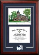New Hampshire Wildcats Spirit Graduate Diploma Frame