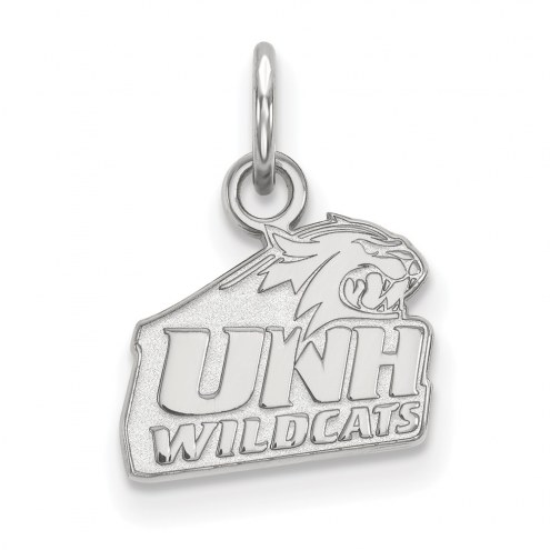 New Hampshire Wildcats Sterling Silver Extra Small Pendant