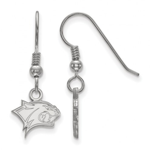 New Hampshire Wildcats Sterling Silver Extra Small Dangle Earrings