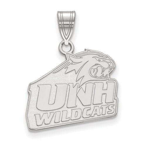 New Hampshire Wildcats Sterling Silver Medium Pendant