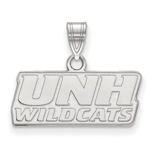 New Hampshire Wildcats Sterling Silver Small Pendant
