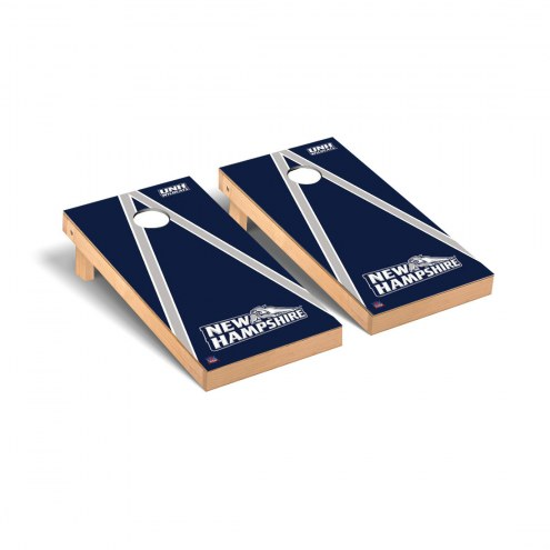 New Hampshire Wildcats Triangle Cornhole Game Set
