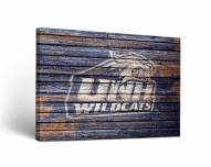 New Hampshire Wildcats Weathered Canvas Wall Art