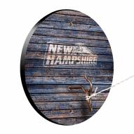 New Hampshire Wildcats Weathered Design Hook & Ring Game