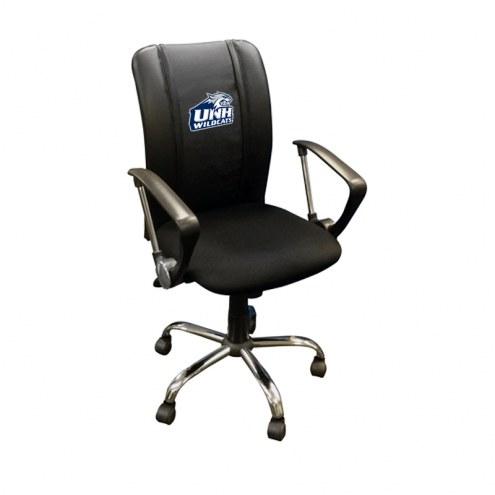 New Hampshire Wildcats XZipit Curve Desk Chair