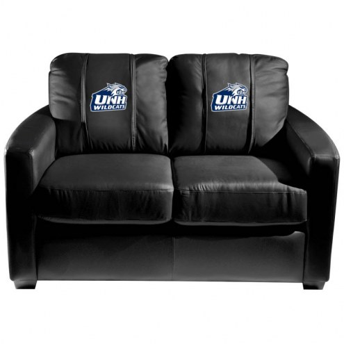 New Hampshire Wildcats XZipit Silver Loveseat